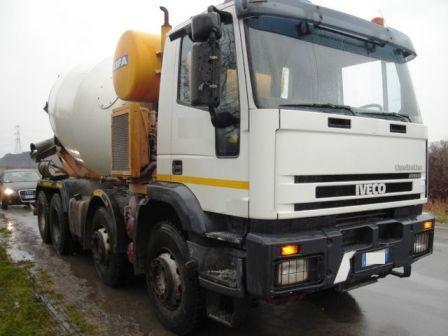 Used Vehicles - AВТOБEТOНOCМECИТEЛИ Iveco eurotrakker 410e44
